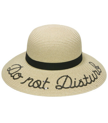 Sunhat-Do not Disturb