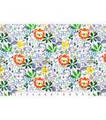 Snuggle Flannel Fabric 42\u0027\u0027-Sketched Jungle Friends