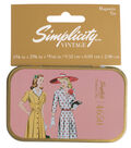 Simplicity Vintage Magnetic Tin-4650