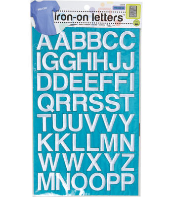 Dritz Alphabet Sheet White