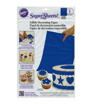 Wilton Sugar Sheets Edible Decorating Paper-1PK