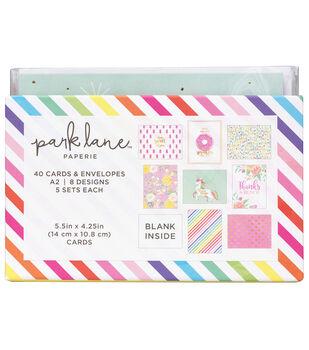 Park Lane Card & Envelope Sets-Unicorns & Rainbows