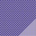 Pebbles Basics Dot Double-Sided Cardstock 12\u0022x12\u0022