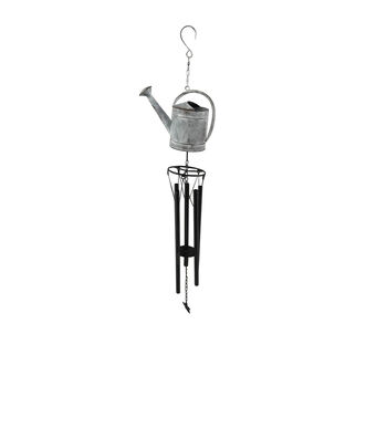 In the Garden Metal Watering Can Wind Chime