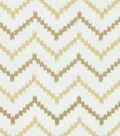 HGTV Home Upholstery Fabric 52\u0022-Bennett Gold