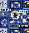 University of Kentucky Wildcats Cotton Fabric 44\u0022-Packed Patches