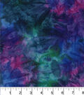 Legacy Studio Batik Cotton Fabric 44\u0022-Tonal Purple