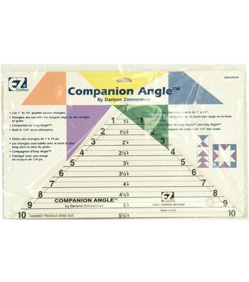 "Wrights/EZ Acrylic Template Companion Angle 10"""