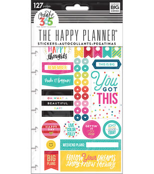 The Happy Planner Stickers-Happy Brights