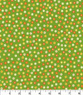 Quilter\u0027s Showcase Cotton Fabric -Flower Field on Green