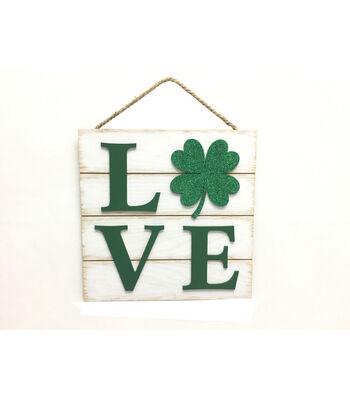 St. Patrick's Day Wall Decor-Love Shamrock