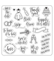 Lia Griffith Clear Stamps-Wedding Day, , hi-res