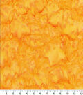 Premium Cotton Fabric -Yellow Tonal Batik