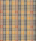 Harvest Cotton Fabric 43\u0022-Harvest Plaid Checkers