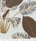 Home Decor 8\u0022x8\u0022 Fabric Swatch-Genevieve Gorder Hojas Cubanas Dusk