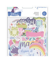 American Crafts Shimelle Head in the Clouds 40 pk Ephemera, , hi-res