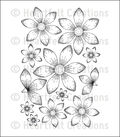 Heartfelt Creations Cling Rubber Stamp Set 5\u0022X6.5\u0022-Sun Kissed Fleur