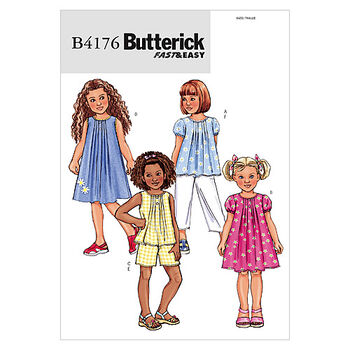 Butterick Child Casual-B4176