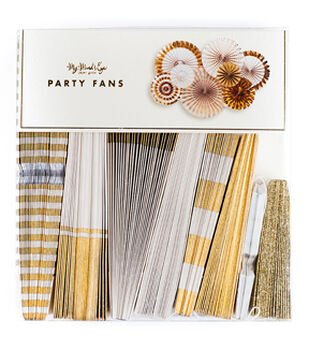 My Minds Eye Paper Goods Fancy Party Fans