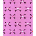 Snuggle Flannel Fabric -Bright Tribal Arrows