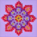 Diamond Dotz Diamond Embroidery Art Kit 4.75\u0027\u0027X4.75\u0027\u0027-Flower Mandala 2
