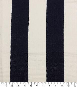 Solarium Outdoor Fabric-Olefin Stripe Blue