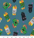 Minecraft Cotton Fabric -Mini Mobs