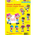 BlockStars! Classic Accents Variety Pack, 48 Per Pack, 6 Packs