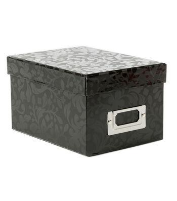 Mini Photo Storage Box-Floral Vine
