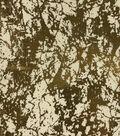 Keepsake Calico Cotton Fabric 43\u0027\u0027-Cream & Metallic Crackle