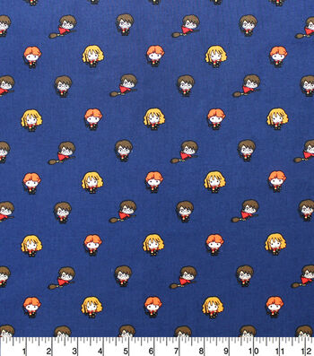 Harry Potter Cotton Fabric-Little Characters