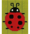 Vervaco iStitch Kits 4 Kids 5\u0027\u0027x6.4\u0027\u0027 Longstitch Kit-Ladybug