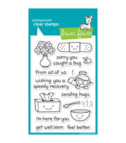 "Lawn Fawn Clear Stamps 4""X6""-On The Mend, , hi-res"