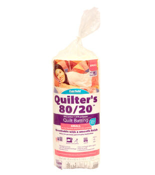 """Fairfield Quilters 80/20-Crib Size 45"""" x 60"""""""