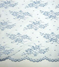 Casa Collection Chantilly Lace Fabric -Celestial Blue