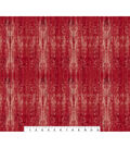 Novelty Cotton Fabric-Red Barn Wood
