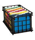 Esselte Filing Crate-Black