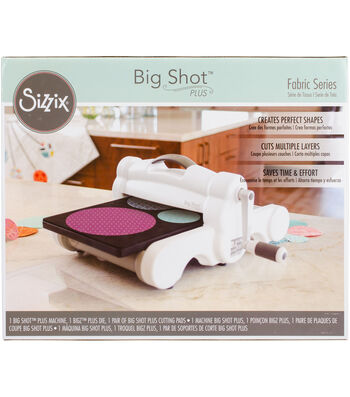 Sizzix Big Shot Fabric Series Starter Kit-White & Gray