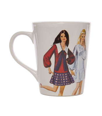 Simplicity Vintage Coffee Cup-1970 Formal