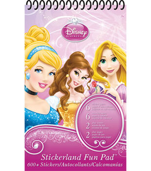 Disney Princess Stickerland Fun Pad