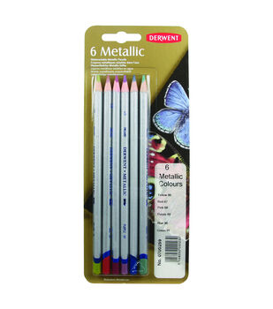 Derwent Metallic Colored Pencil Set of 6