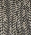 Ellen DeGeneres Multi-Purpose Decor Fabric 54\u0027\u0027-Charcoal Greystone
