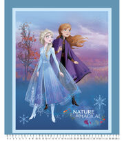 Disney Frozen 2 Fabric Panel-Nature Is Magical, , hi-res
