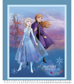 Disney Frozen 2 Fabric Panel-Nature Is Magical