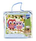Vervaco Cushion Latch Hook Kit 16\u0027\u0027x16\u0027\u0027-Owls On A Branch