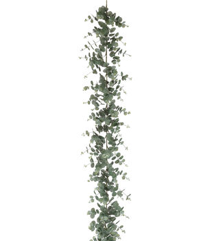 bloom room 6 eucalyptus garland - Christmas Greenery