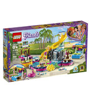 LEGO Friends 41374 Andrea's Pool Party, , hi-res