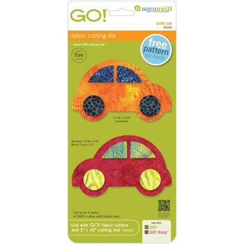 Cute Car -go! Fabric Die