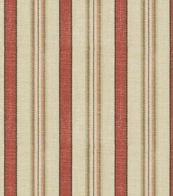 "Waverly Multi-Purpose Decor Fabric 54""-General Store Crimson"