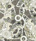 Williamsburg Upholstery Fabric 54\u0022-Imari/Licorice